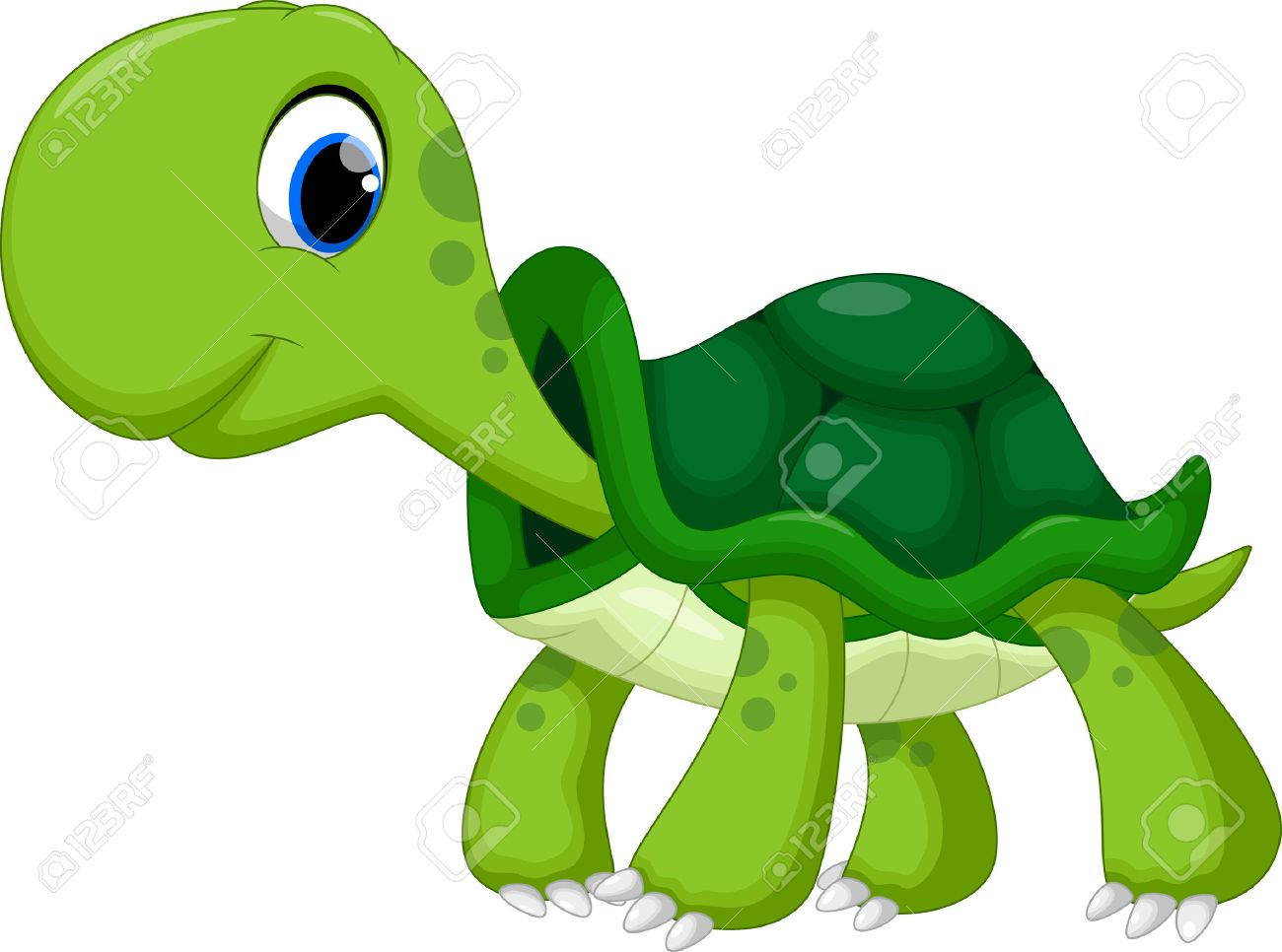 Cute turtle cartoon - 44627976