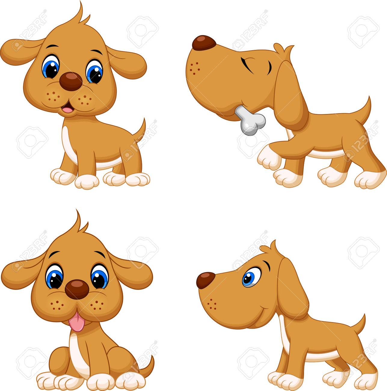 Illustration of cartoon dog collection set - 165285581