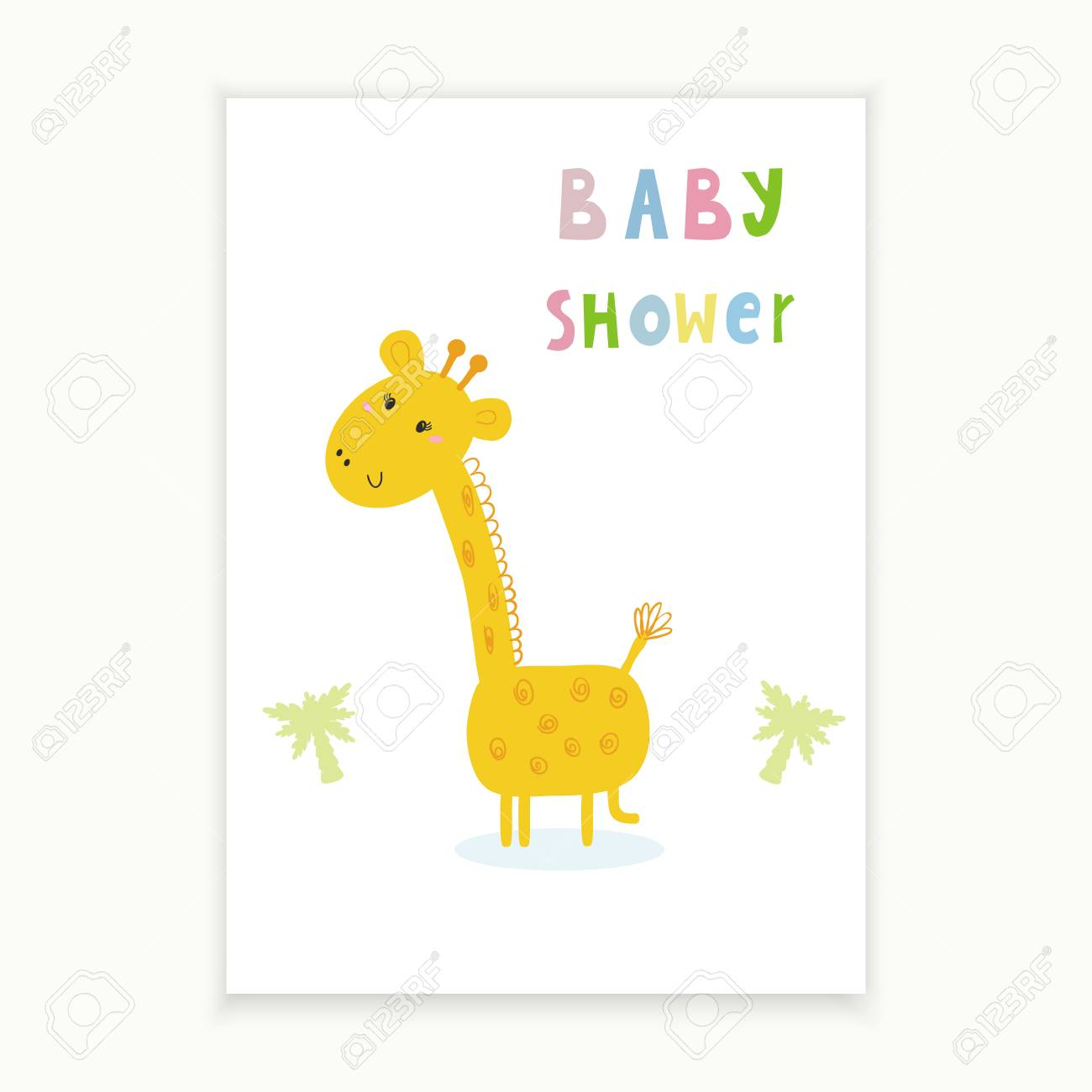 graphic regarding Printable Baby Shower Card referred to as Child Shower card design and style Printable template
