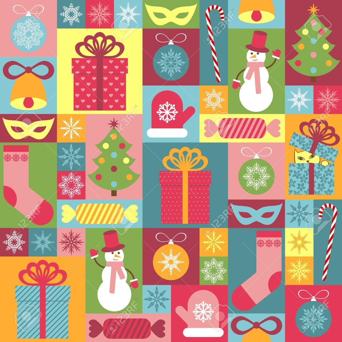 Sin Patrón De Navidad Para Los Niños Puede Ser Utilizado Para La Decoración De Papel De Envolver Invitaciones Tarjetas
