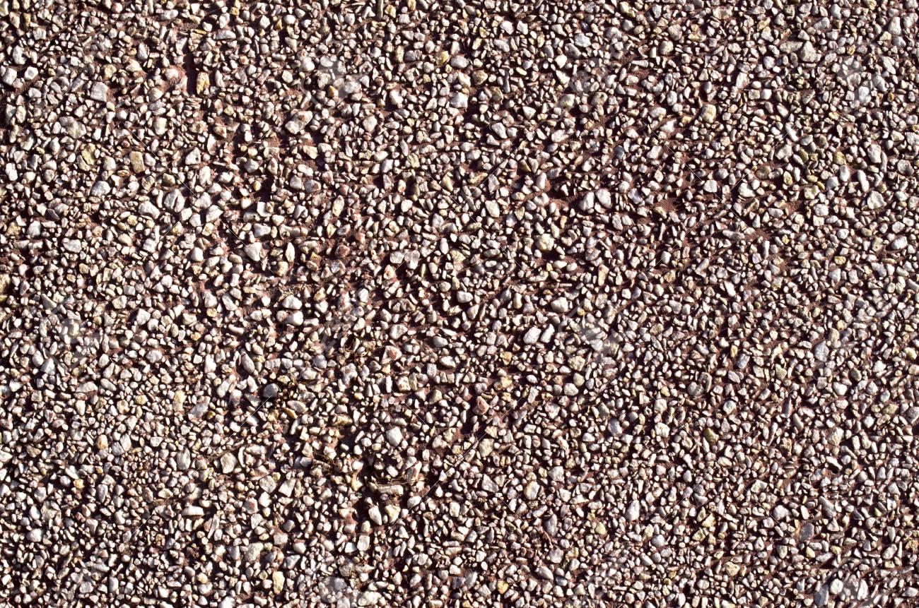 Mur En Cailloux rouge mosaïque de galets mur de cailloux gros plan en journée