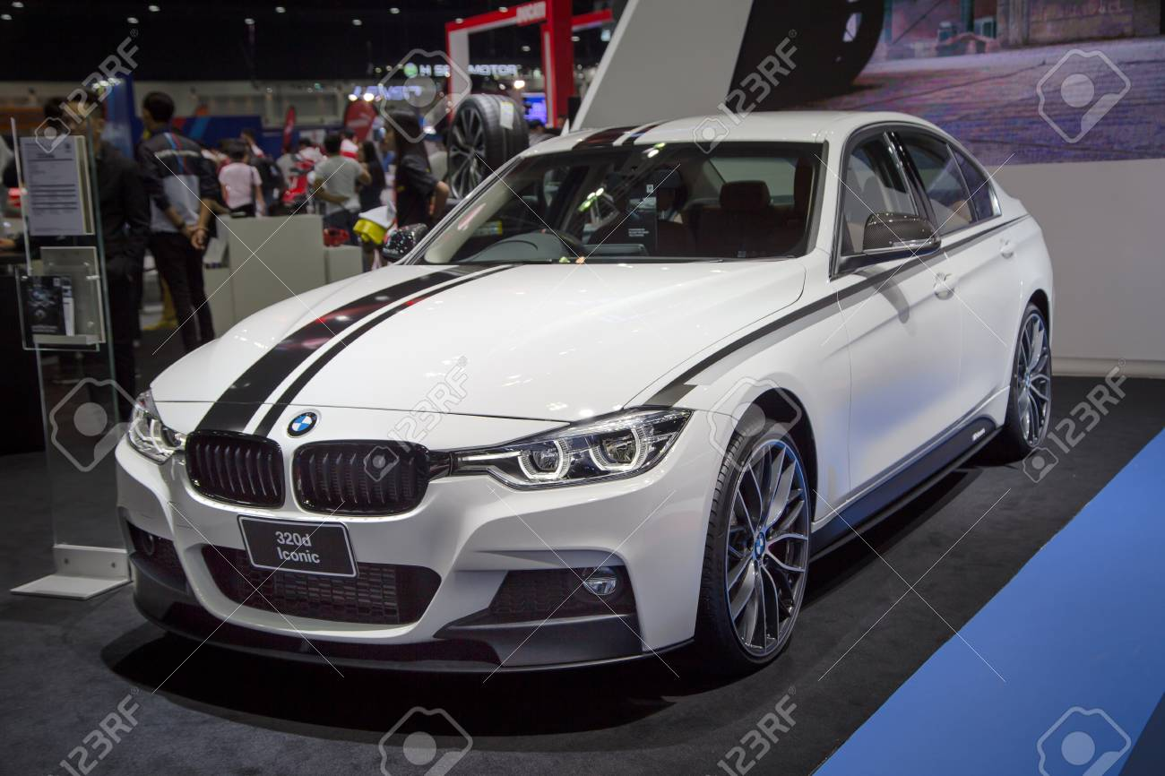 Bangkok Thailand December 11 2017 Bmw 320d Iconic Presented