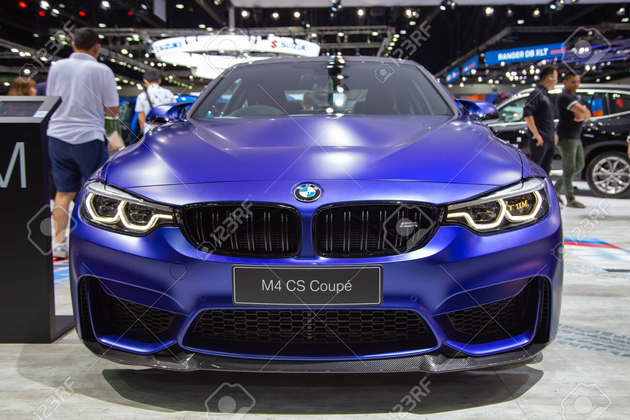 Nonthaburi Thailand April 3 2019 Bmw M4 Cs Coupe Presented Stock Photo Picture And Royalty Free Image Image 134813511
