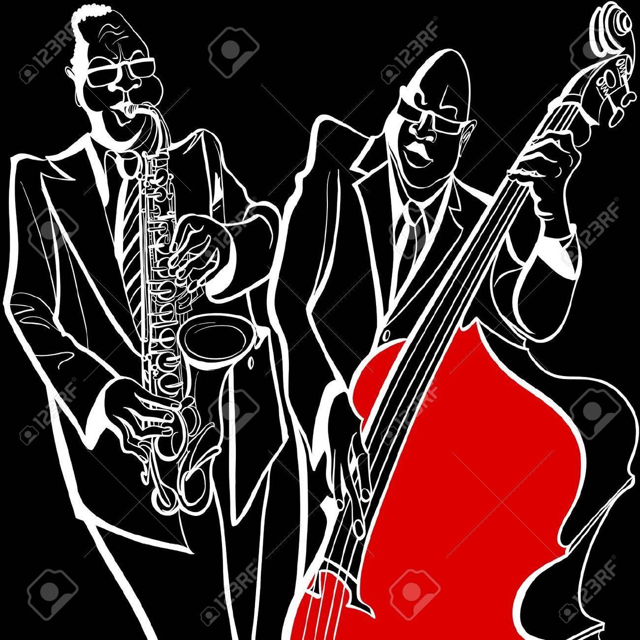 ジャズ バンドのイラスト の写真素材画像素材 Image 20450209