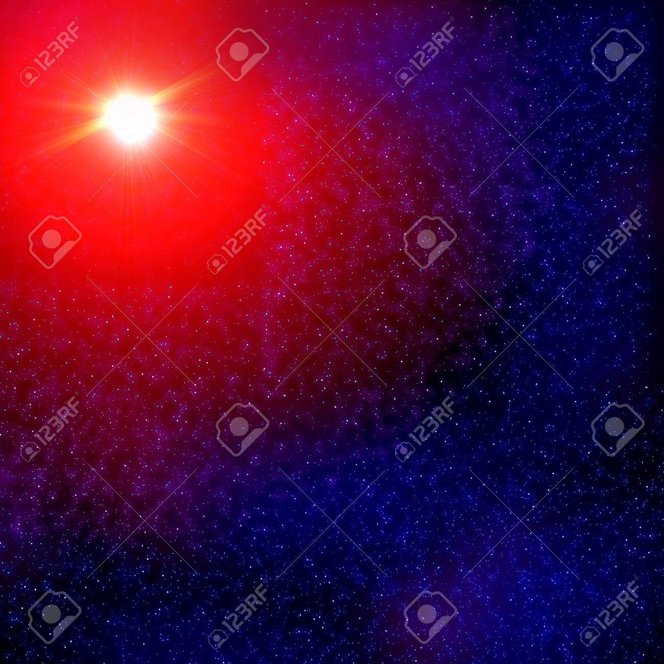 a view from space starscape Stock Photo - 9163951