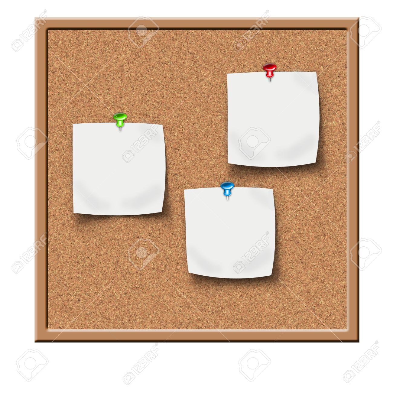 cork board with sticker reminders - 9848220