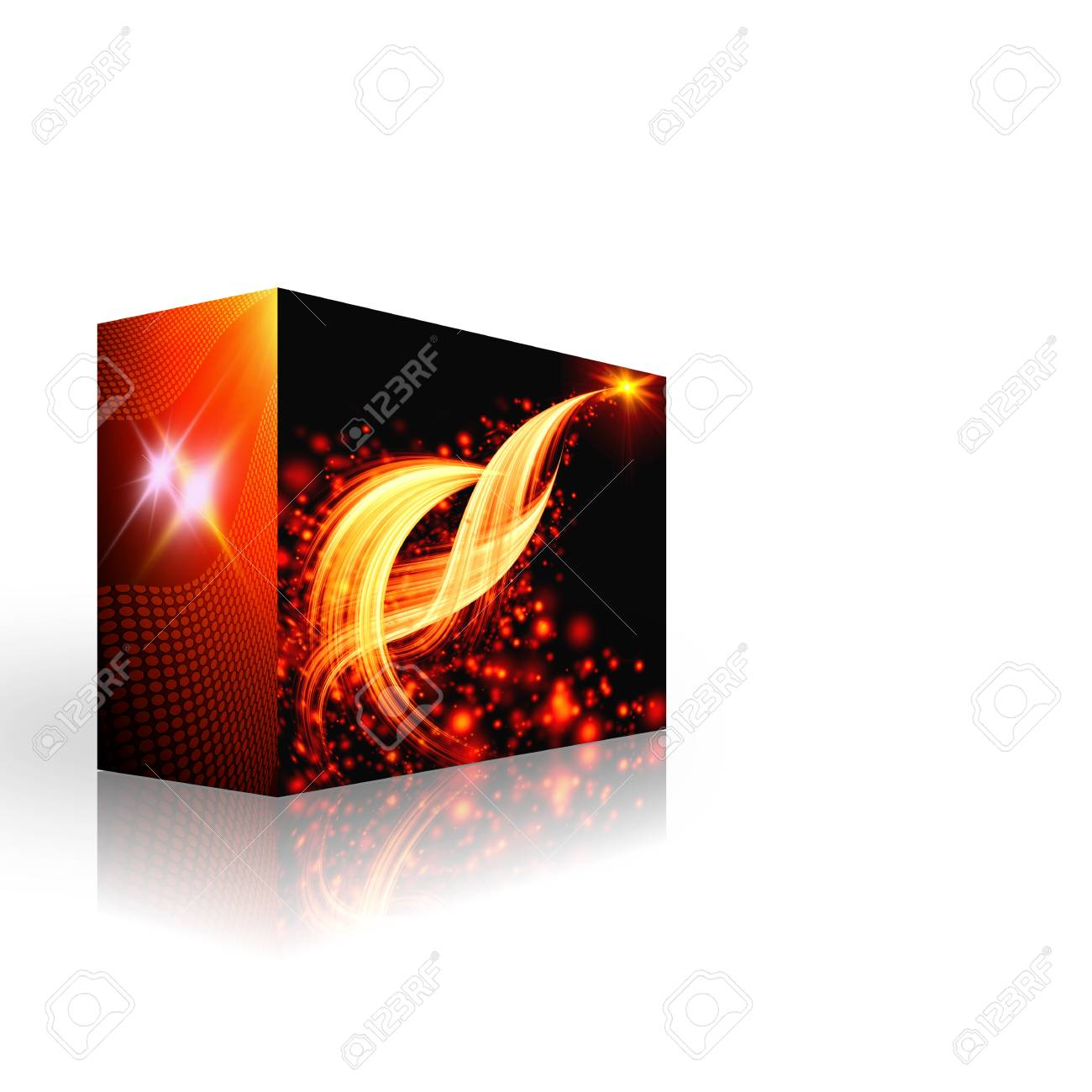 box with fireworks Stock Photo - 9923096