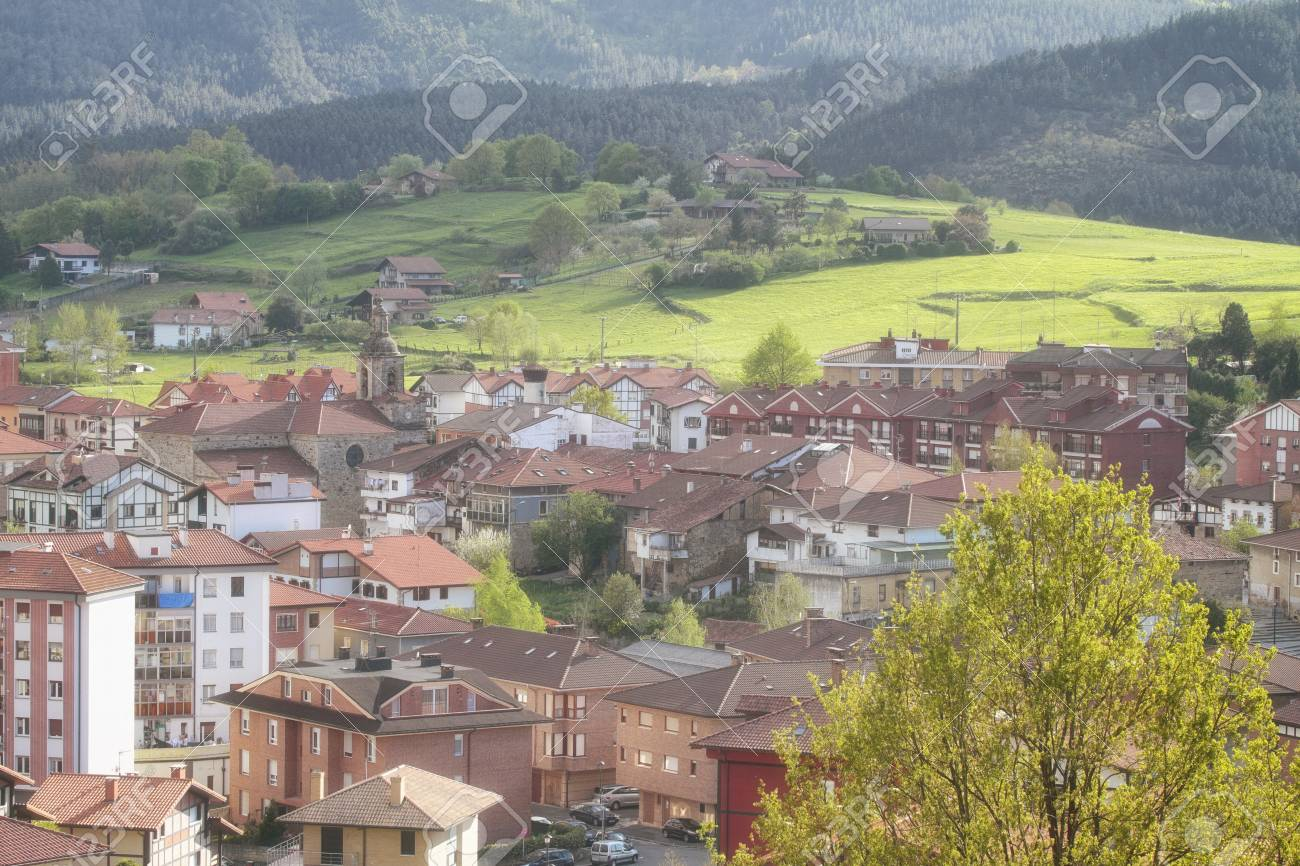 Larrabetzu Is A Beautiful Village Located In The Txorierri Valley