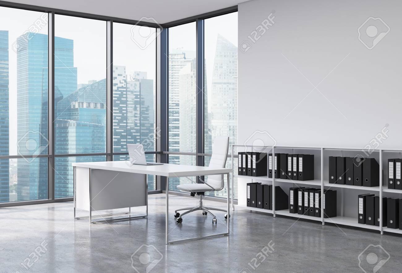 Scrivania Bianca Con Libreria : Armadi con scrivania scrivania bianca piccola calcioa toscana