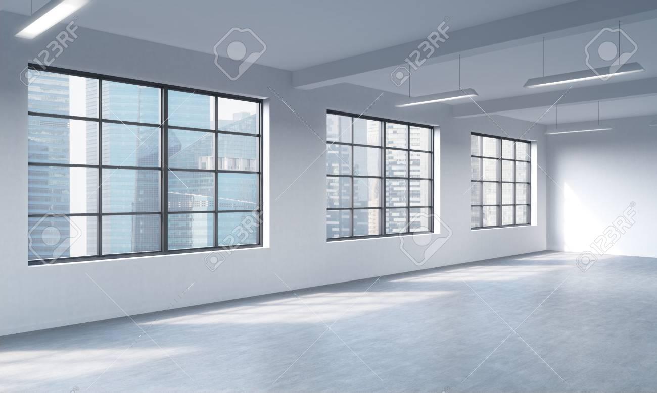 Ufficio Stile Moderno : Stile moderno loft open space può essere utilizzato se lo spazio
