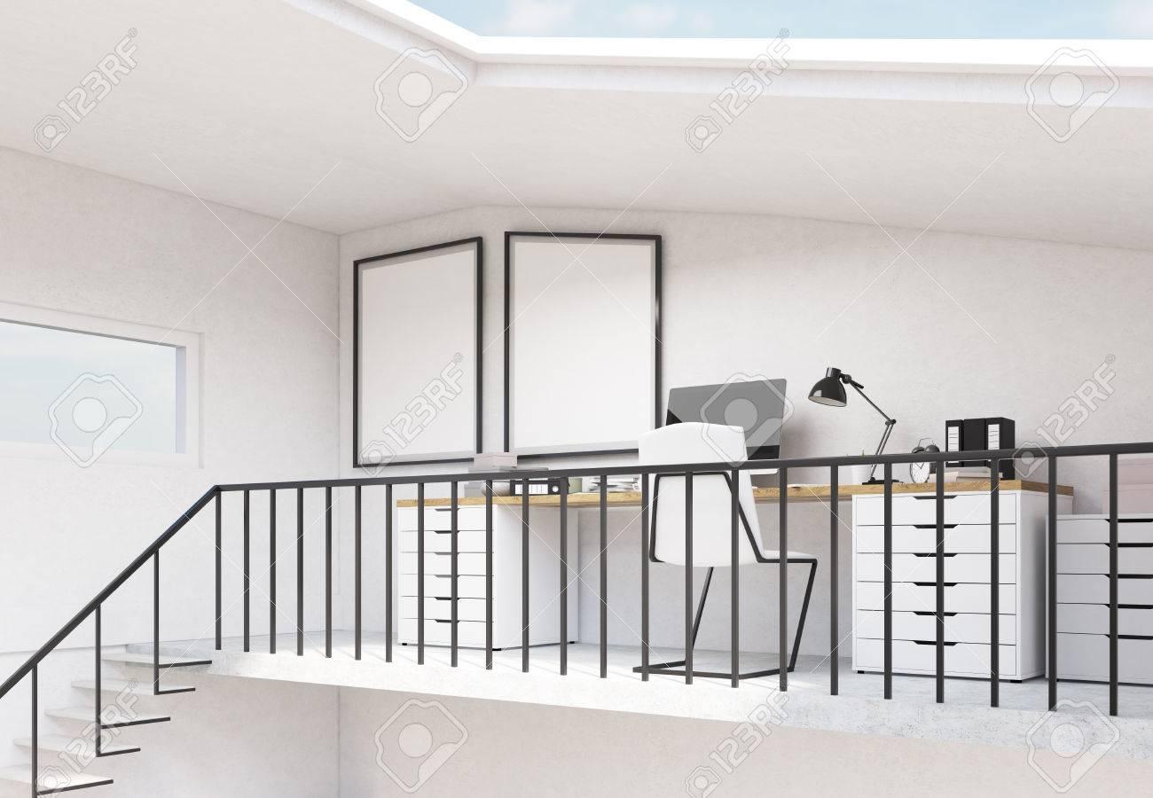 Barandillas Escaleras Interiores. Barandilla De Vidrio Con Paneles ...