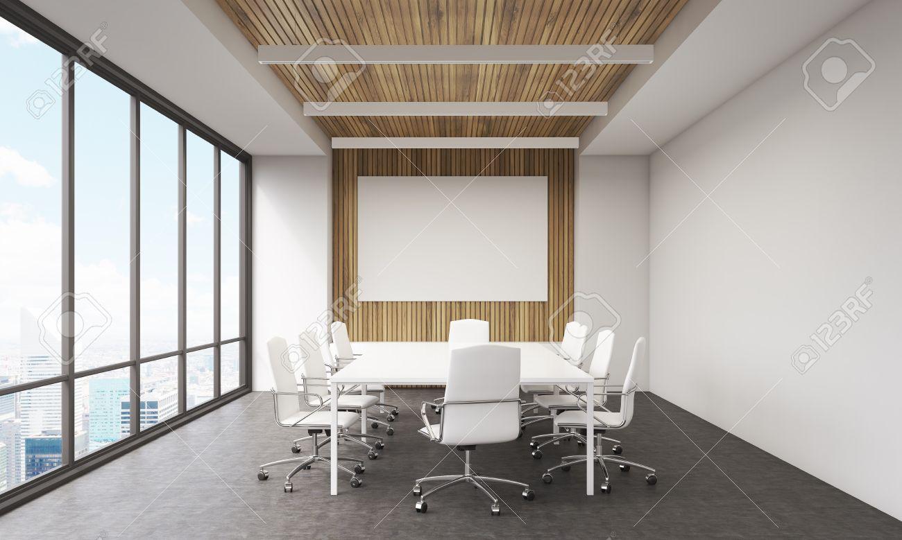 Réunion intérieur de la chambre dans le bureau moderne. tableau