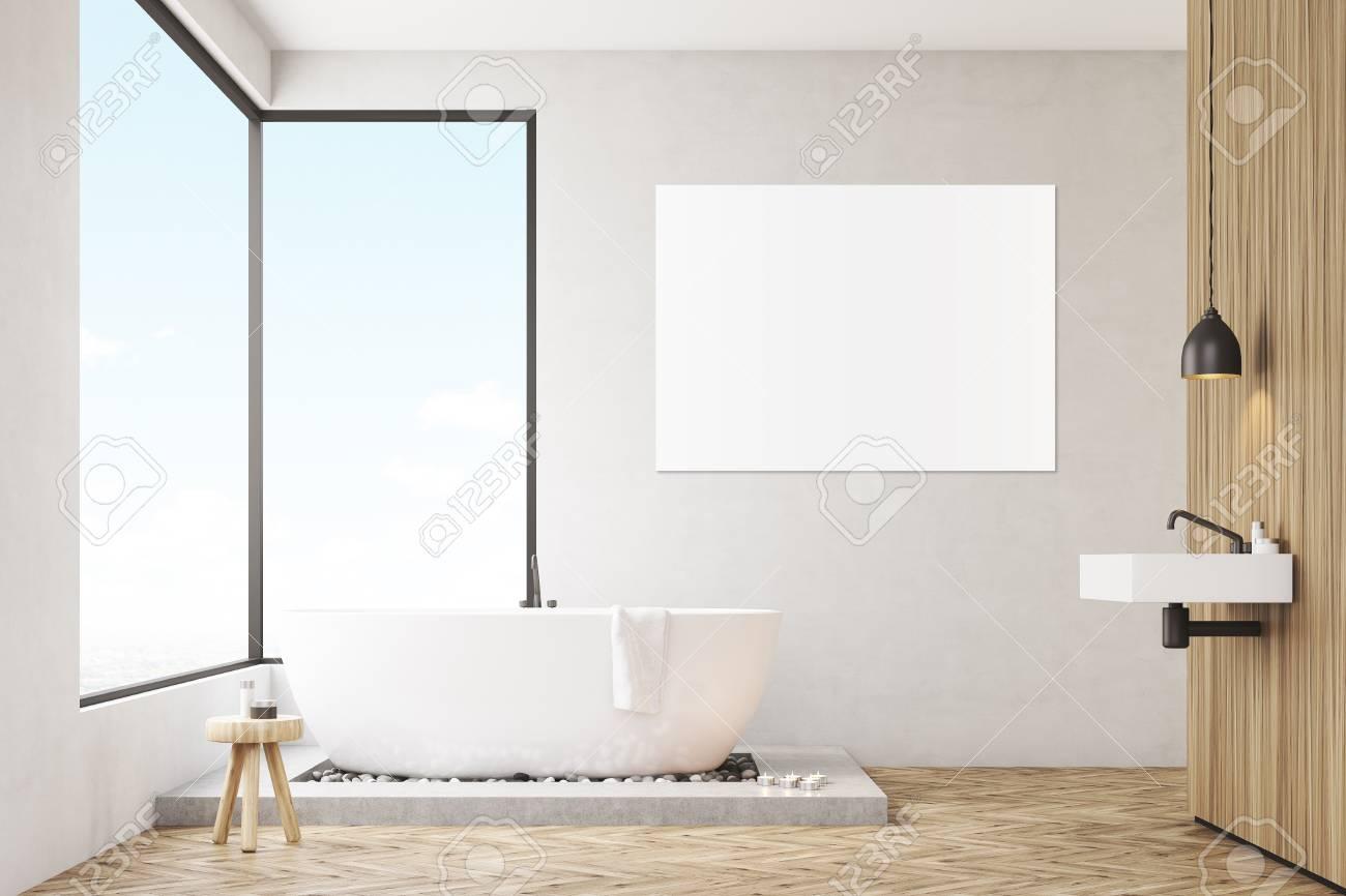 Salle De Bain Et Dressing Dans Chambre ~ Int Rieur De Salle De Bains Avec Des Fen Tres Panoramiques Et Une