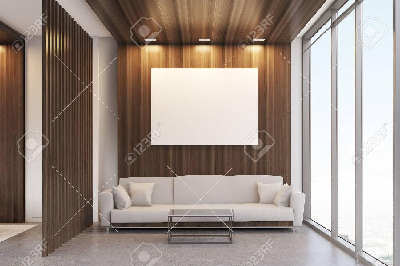 Bureaux De Luxe : Salle d attente de bureau de luxe avec des éléments de décoration