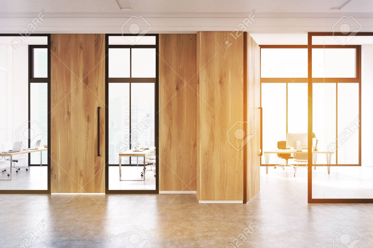 Modern office lobby interior with a meeting room with glass walls modern office lobby interior with a meeting room with glass walls there is a wooden planetlyrics Images