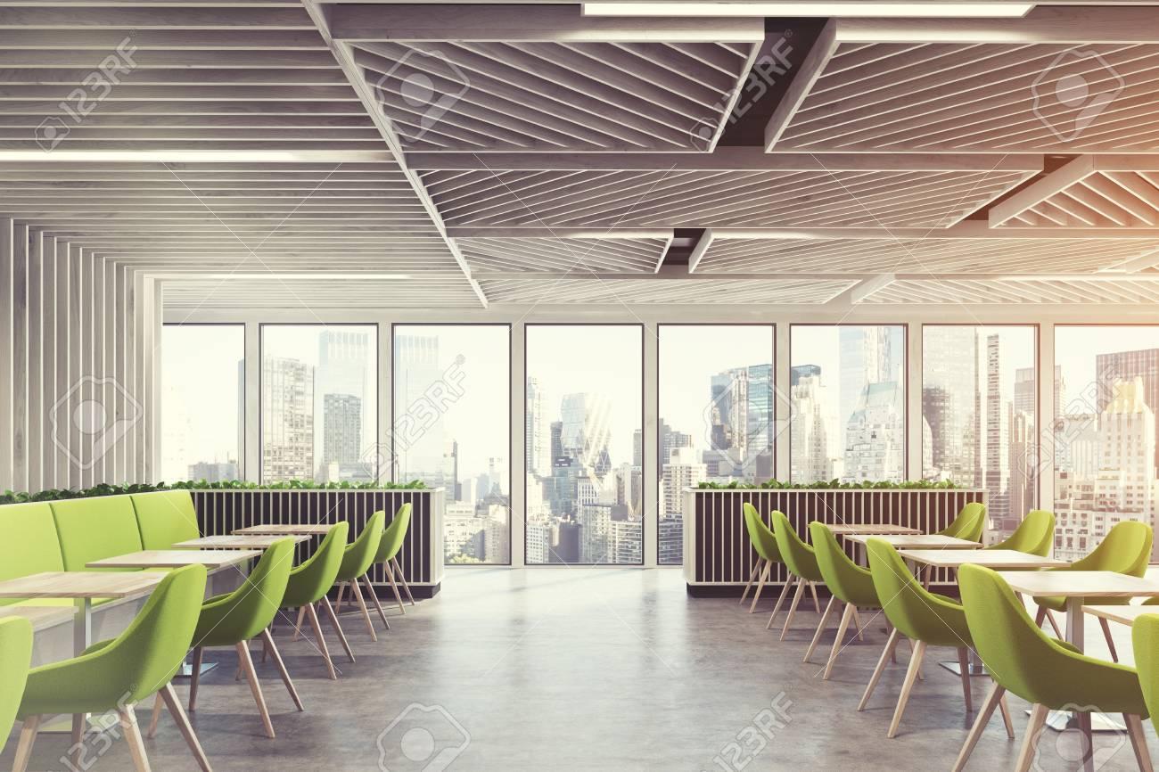 side view of a contemporary cafe or a coffee shop interior with rh 123rf com contemporary coffee shop design