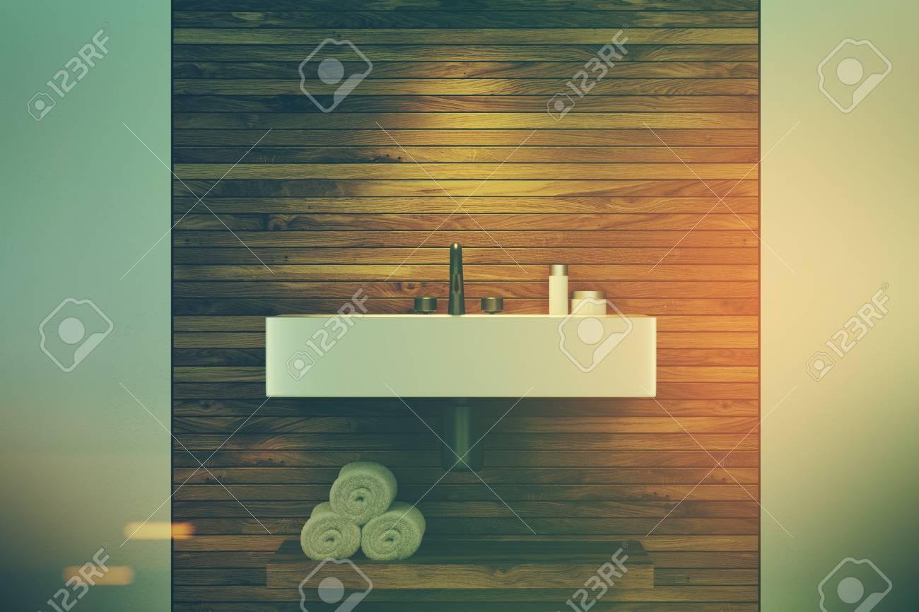 Bagno Legno E Bianco : Dafnedesign mobile da bagno specchio con luci a led tre