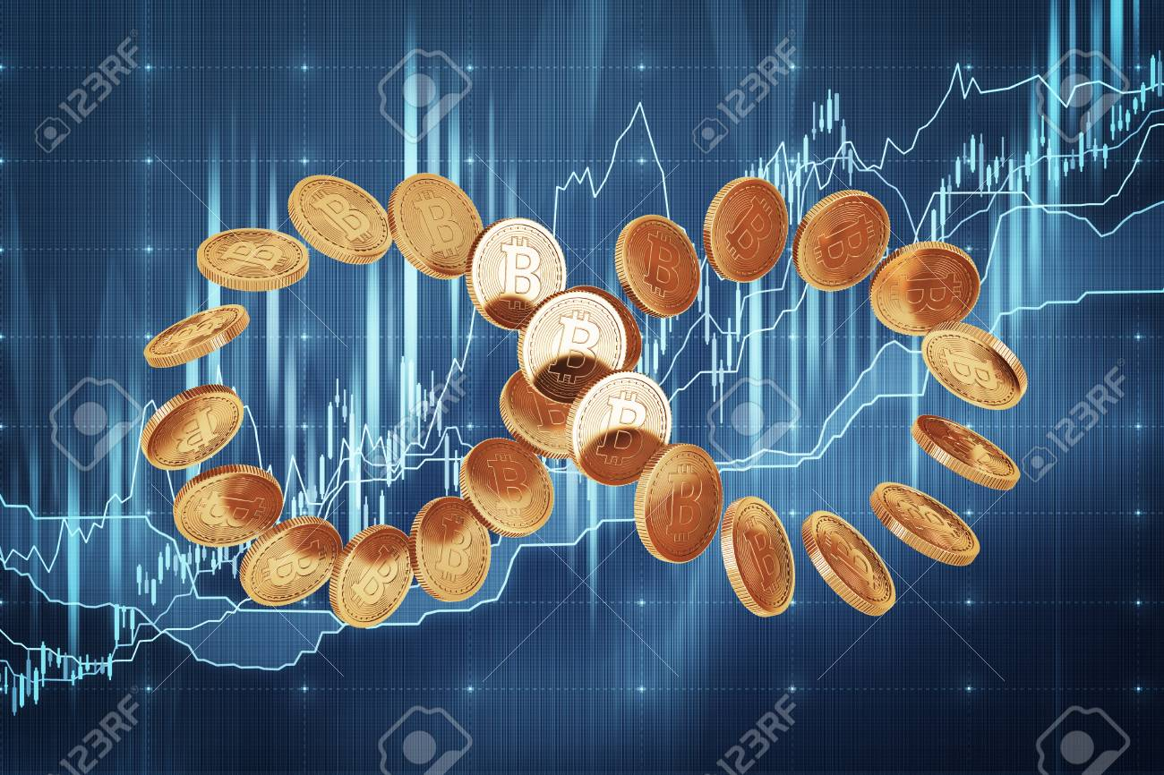 123 double infinity symbol stock vector illustration and royalty infinity symbol constructed of shiny new bitcoins concept of cryptocurrency and future economic prospects buycottarizona