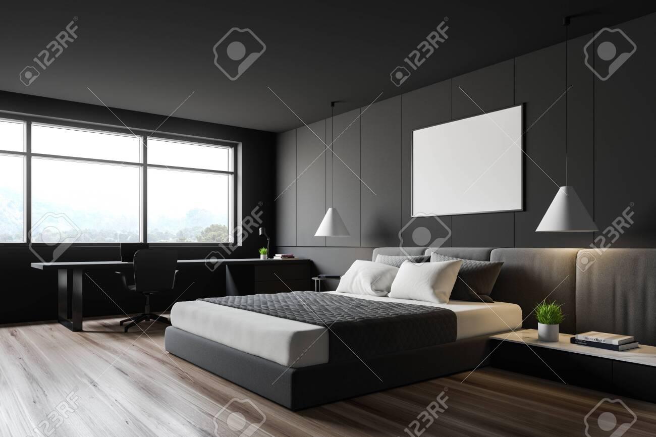 grey bedroom floor