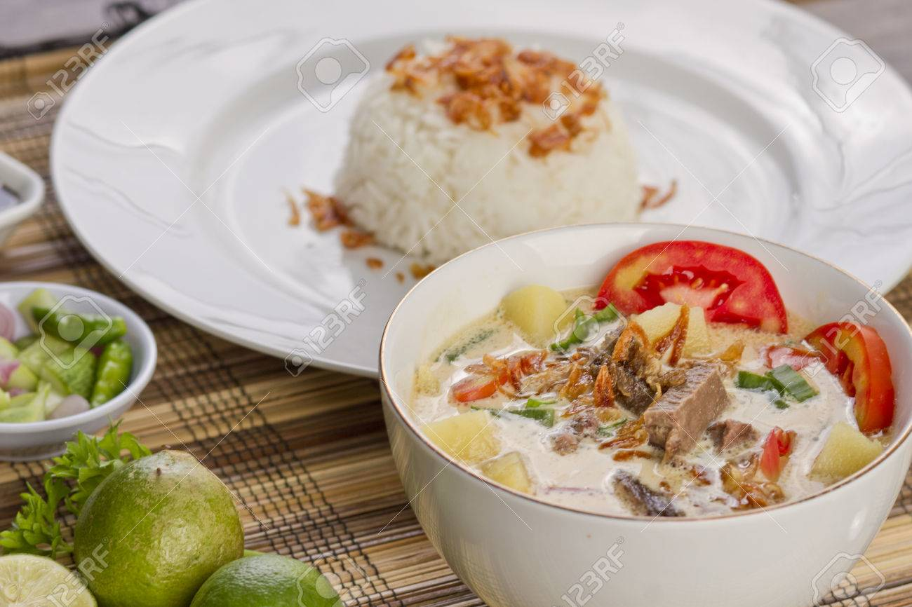 Soto Betawi Indoneisian Food Stock Photo Picture And Royalty Free