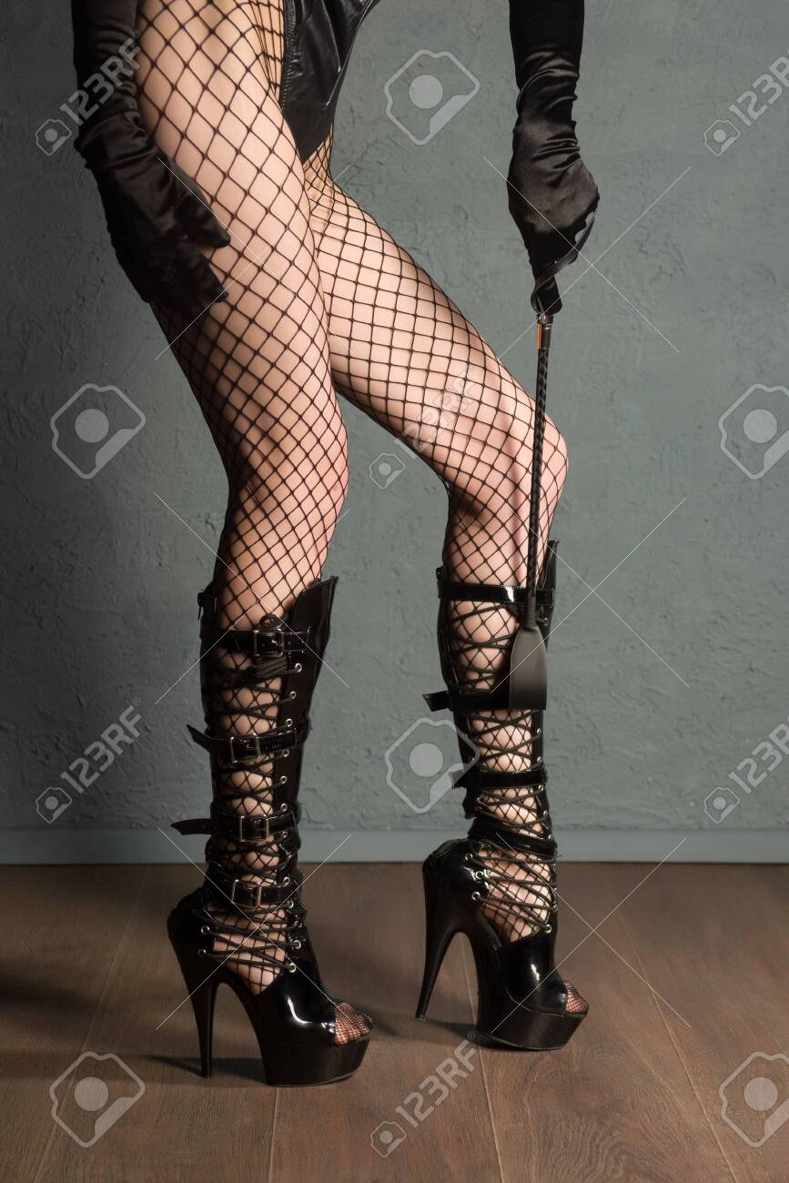 Adult Sex Games Sexy Girl Legs In Fishnet And High Heels Fetish