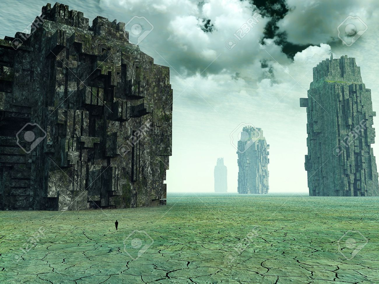 3d Fantasy Landscape Stock Photo Picture And Royalty Free Image Image 13269600
