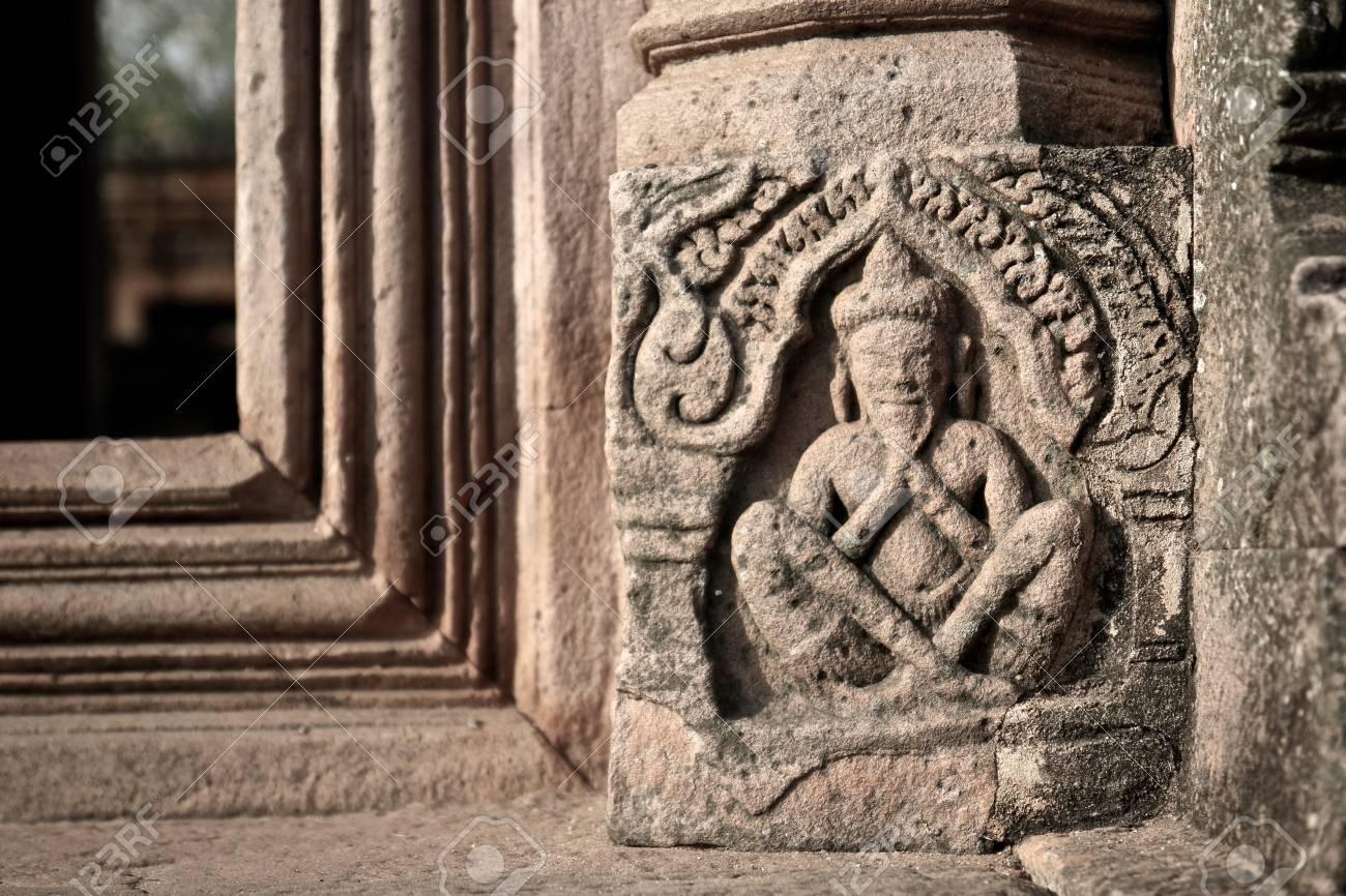 Bas relief carvings at prasat hin phanom rung phanom rung stone