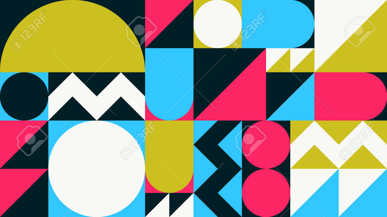 Abstract Geometric Vector Background - 171310274
