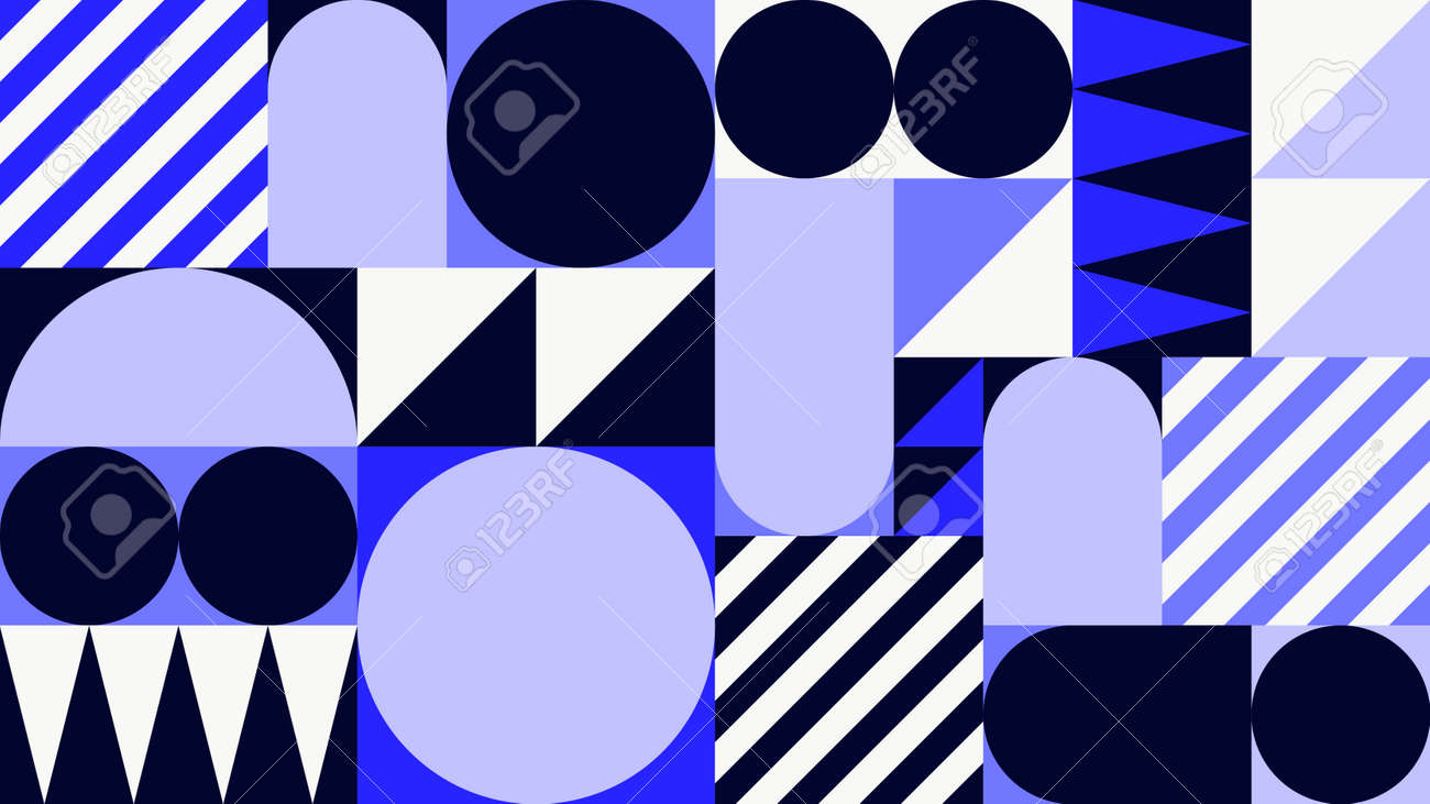 Abstract Geometric Vector Background - 171310275