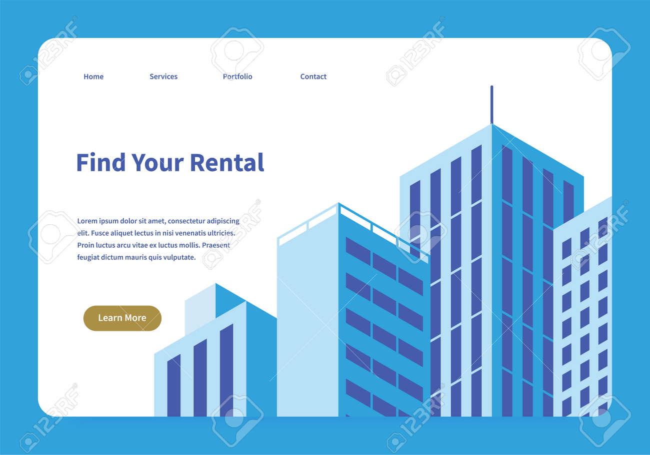 Rental Service Landing Page - 171679670