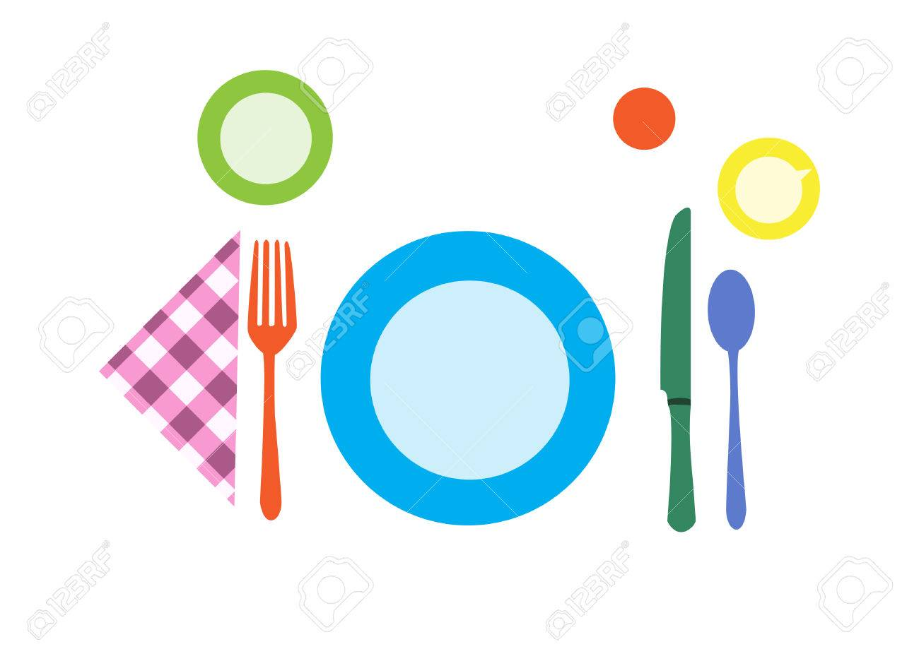Breakfast Table Setting Royalty Free Cliparts, Vectors, And Stock ...