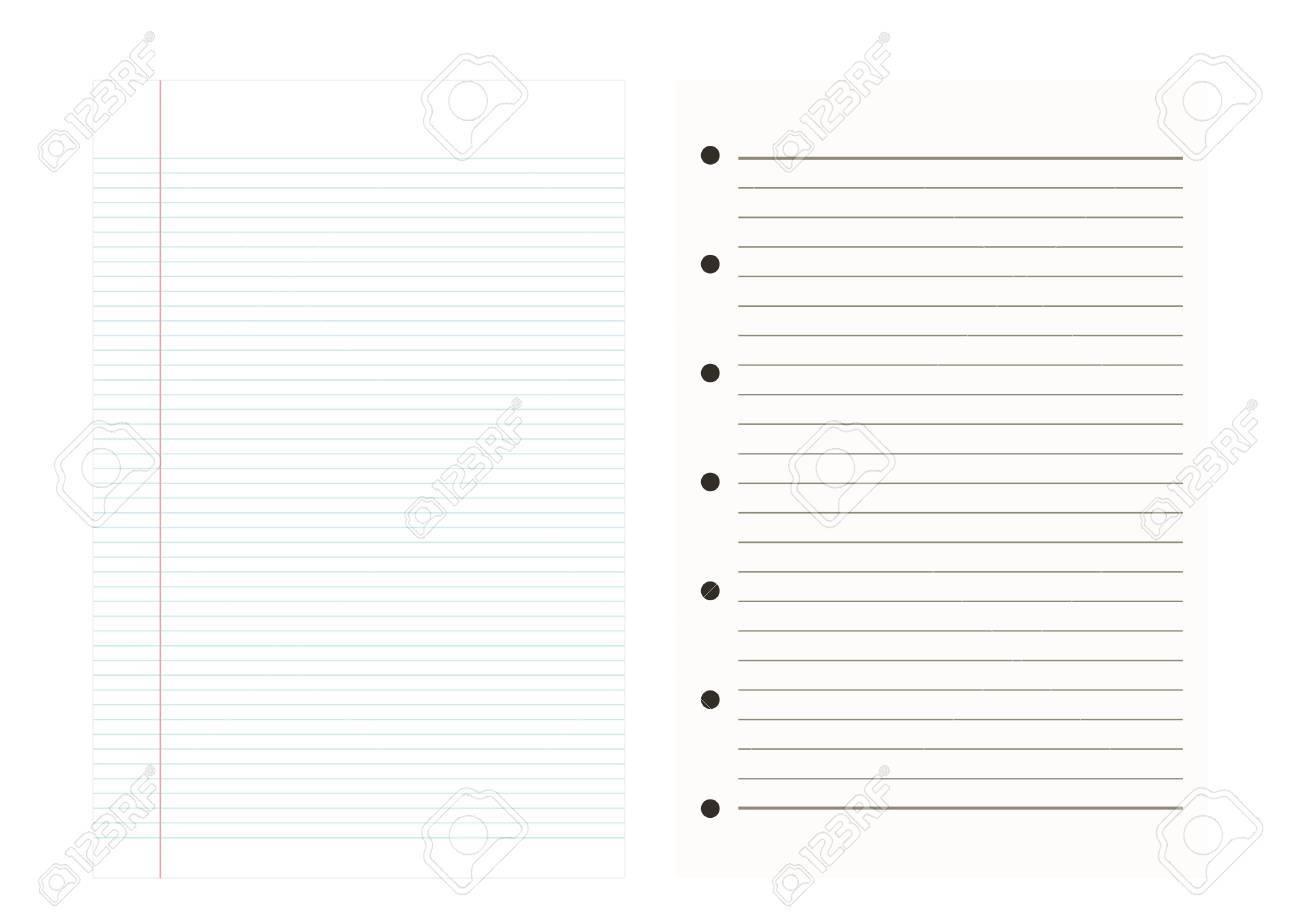 Notebook paper backgroundline patternvector illustrations royalty notebook paper backgroundline patternvector illustrations stock vector 46675809 altavistaventures Gallery