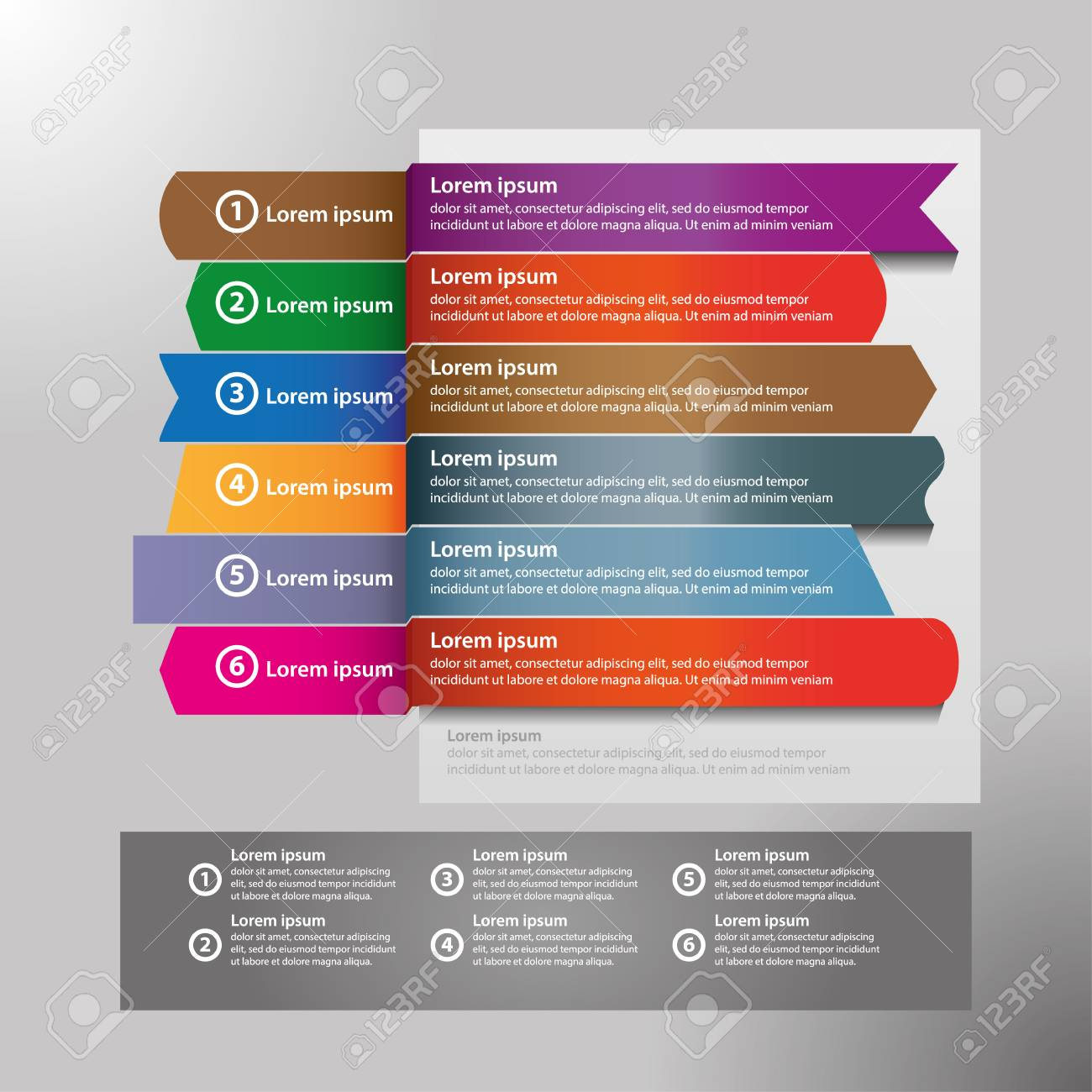 Infographic design vector and marketing icons can be used for workflow layout, diagram, annual report, web design. Business concept with 4 options, steps or processes. - 124649928
