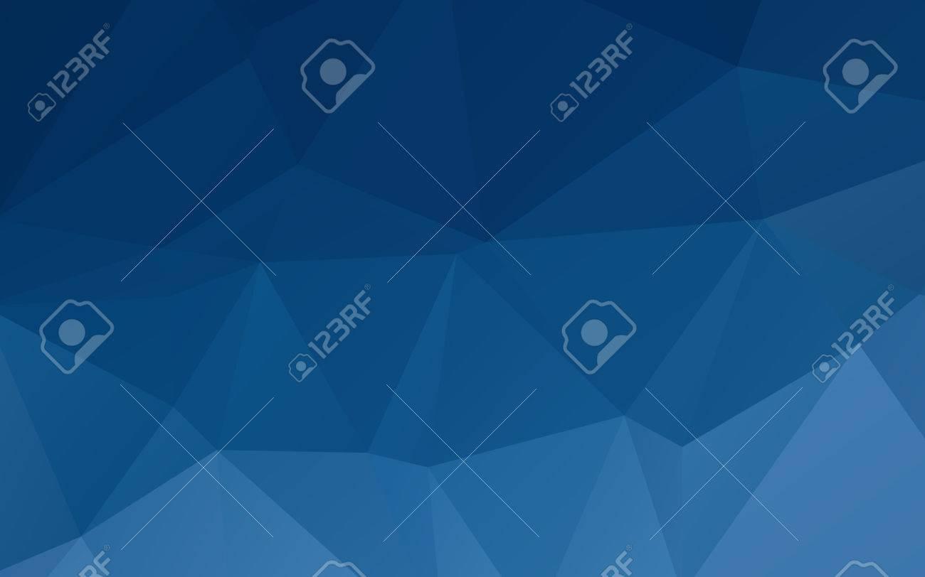 深い青色の抽象的な三角ベクトル抽象的な壁紙背景のイラスト素材
