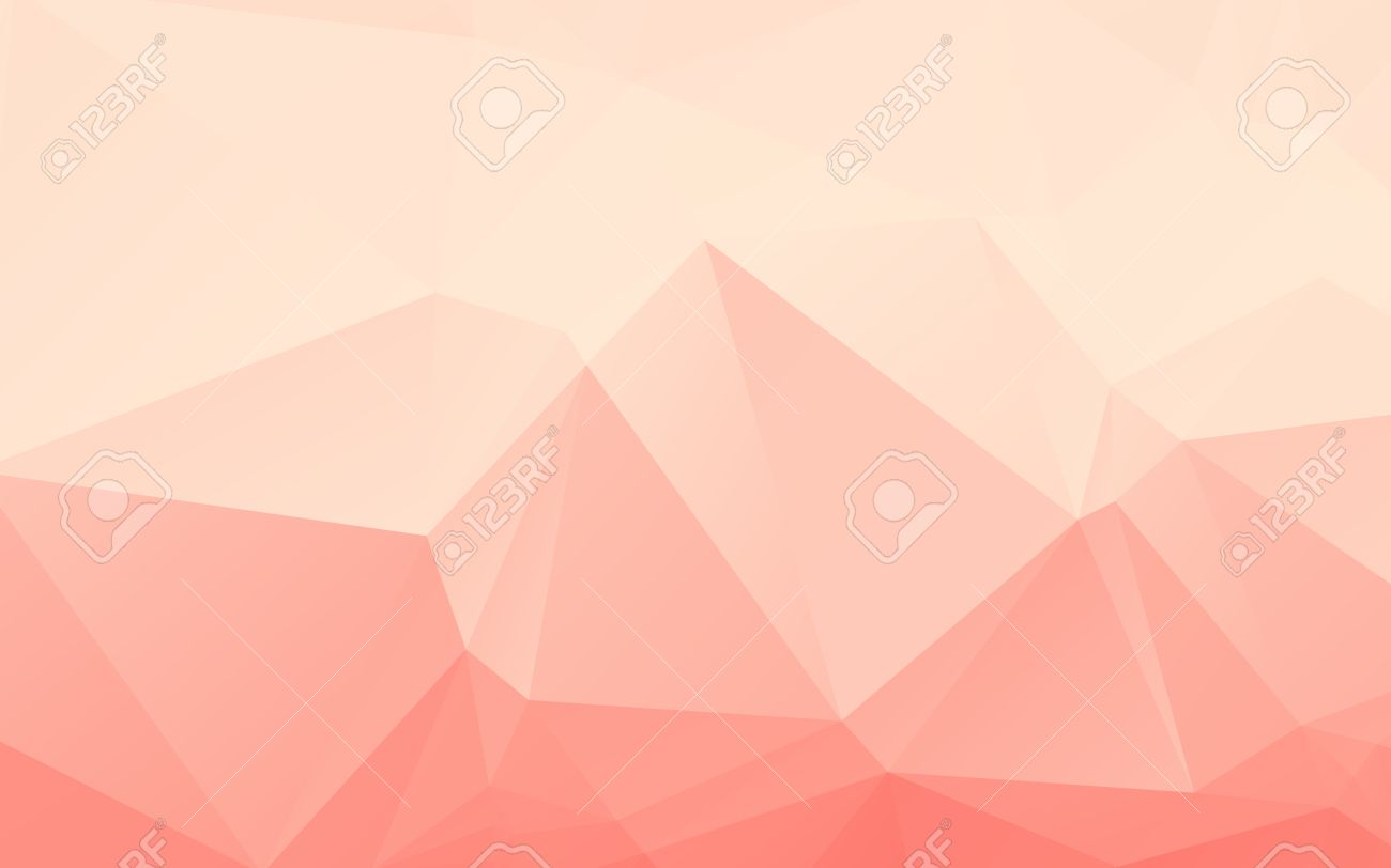 Low Poly Light Pink Wallpaper Background Freevectors
