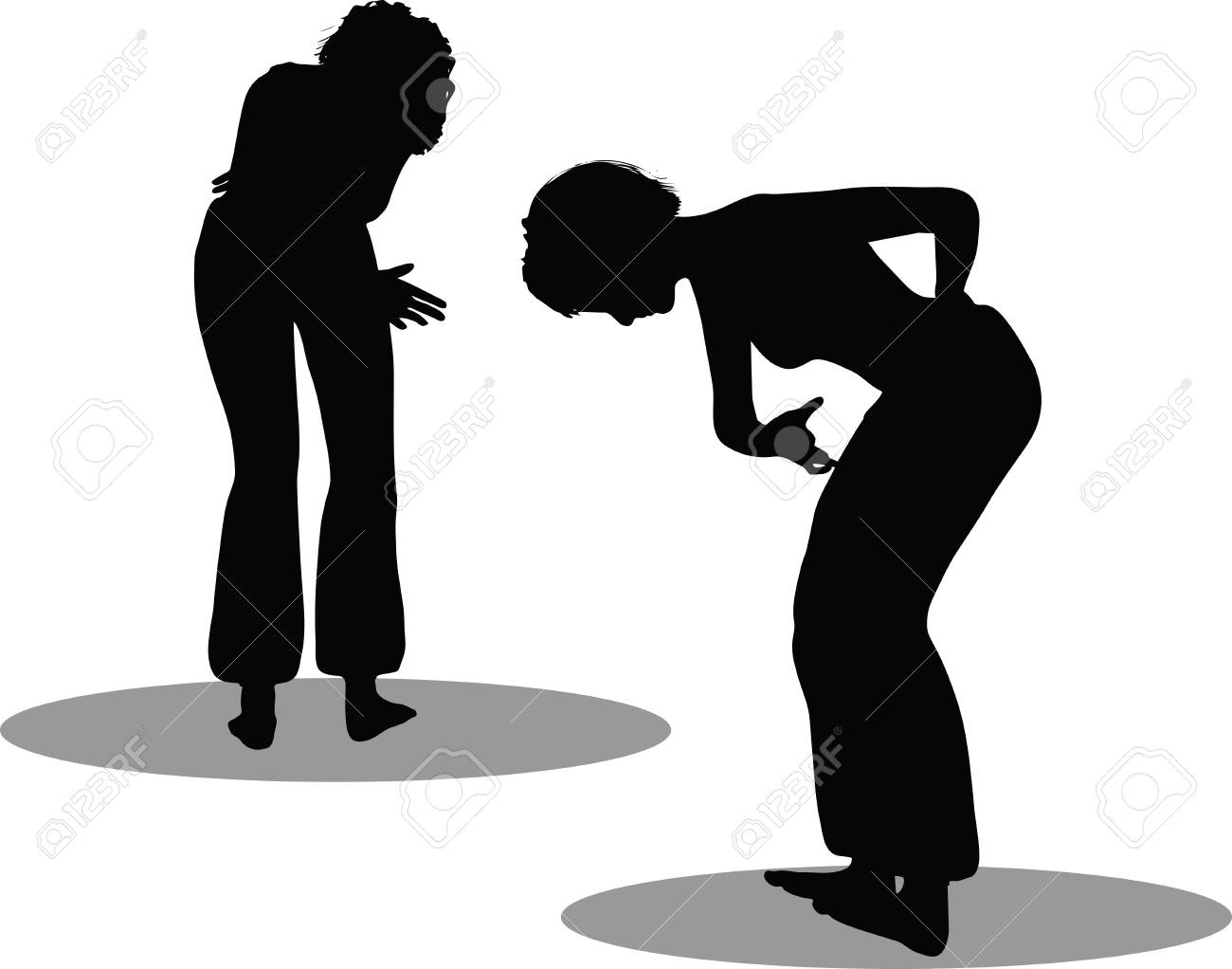 EPS 10 Vector Illustration of dancer woman silhouette Stock Vector - 27172707
