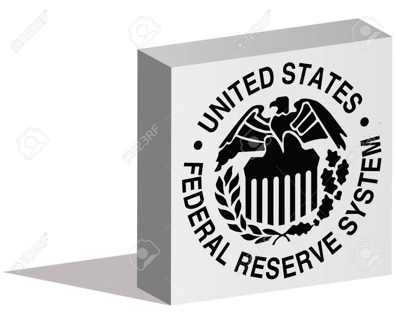 Istanbul Turkey August 06 2015 Federal Reserve System Logotype
