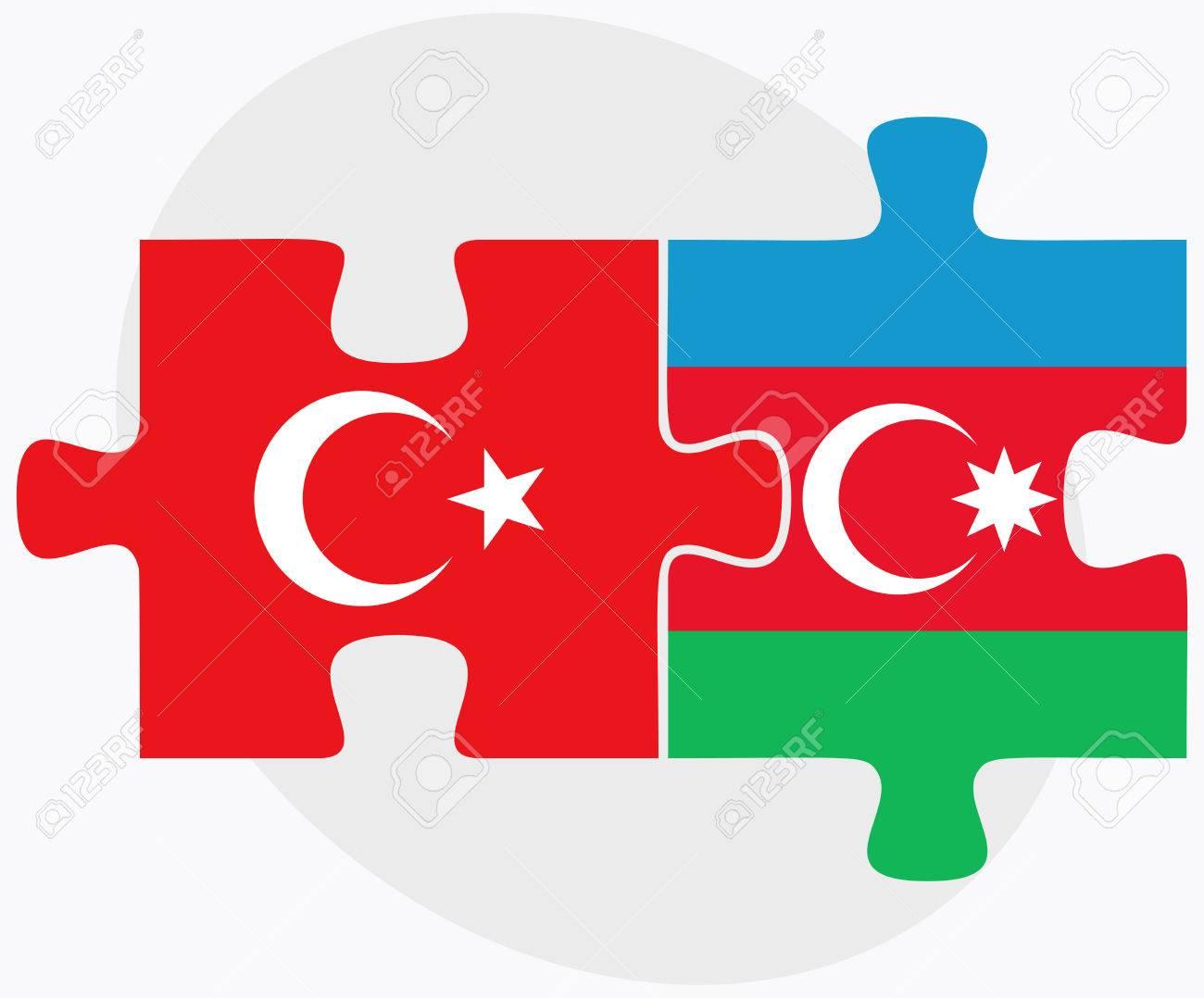 Turkei Und Aserbaidschan Fahnen In Puzzle Isoliert Auf Weissem Hintergrund Lizenzfrei Nutzbare Vektorgrafiken Clip Arts Illustrationen Image 44659475
