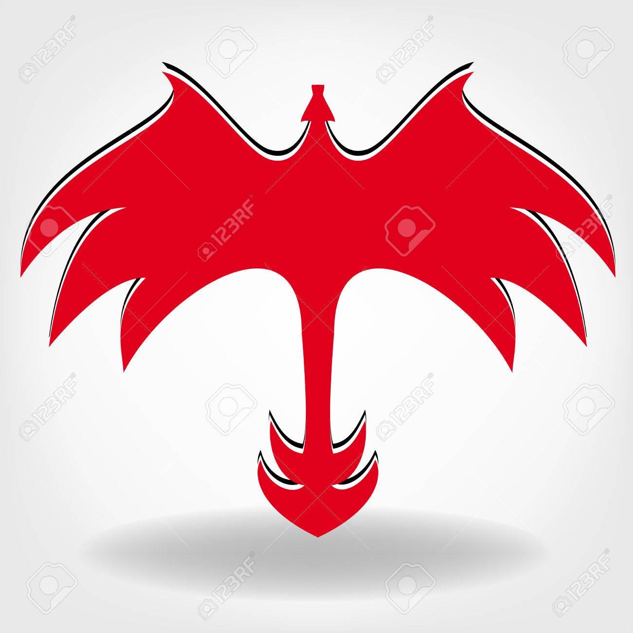 dragon logo vector design template dragon icon royalty free