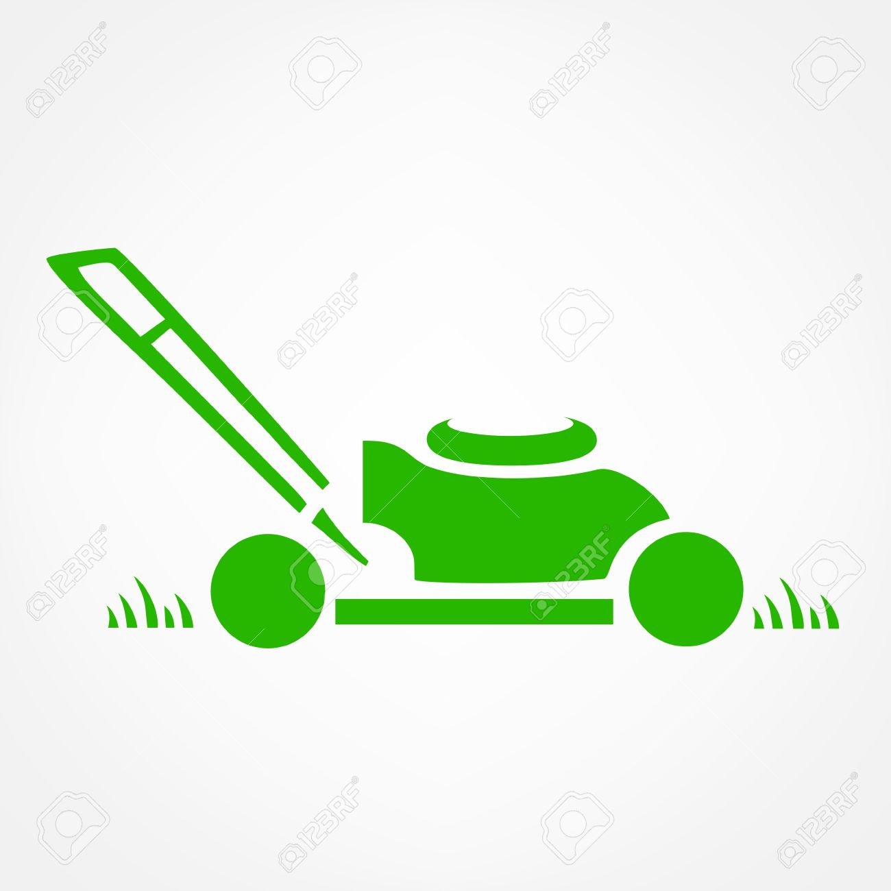 lawn mower logo vector royalty free cliparts vectors and stock rh 123rf com