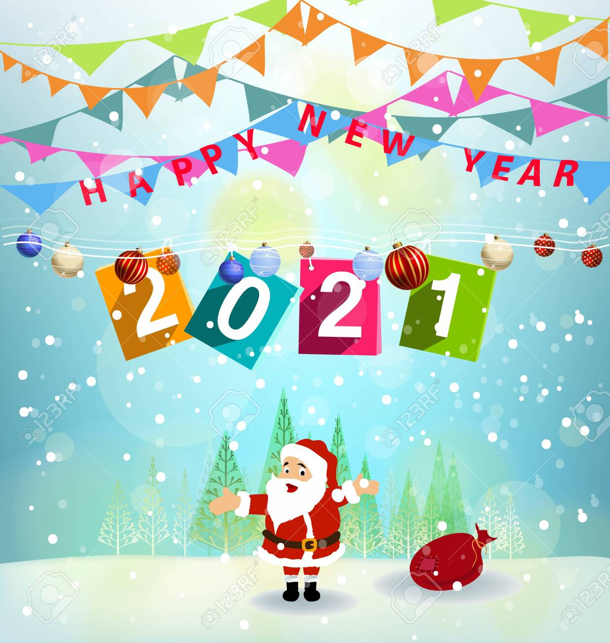 Merry Christmas 2021 Clipart Merry Christmas 2021 Royalty Free Cliparts Vectors And Stock Illustration Image 144438653