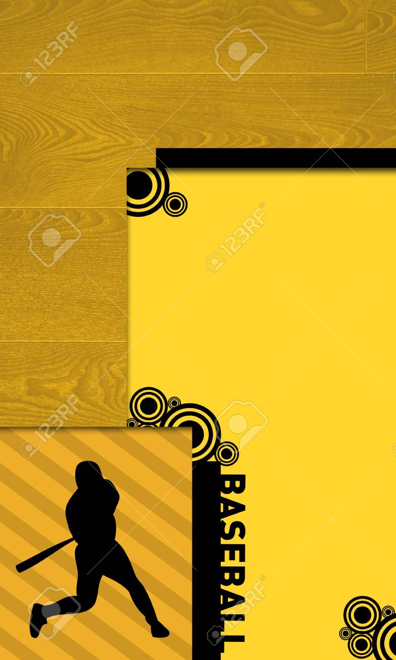 Abstract baseball background with space (poster, web, leaflet, magazine) Stock Photo - 14031953
