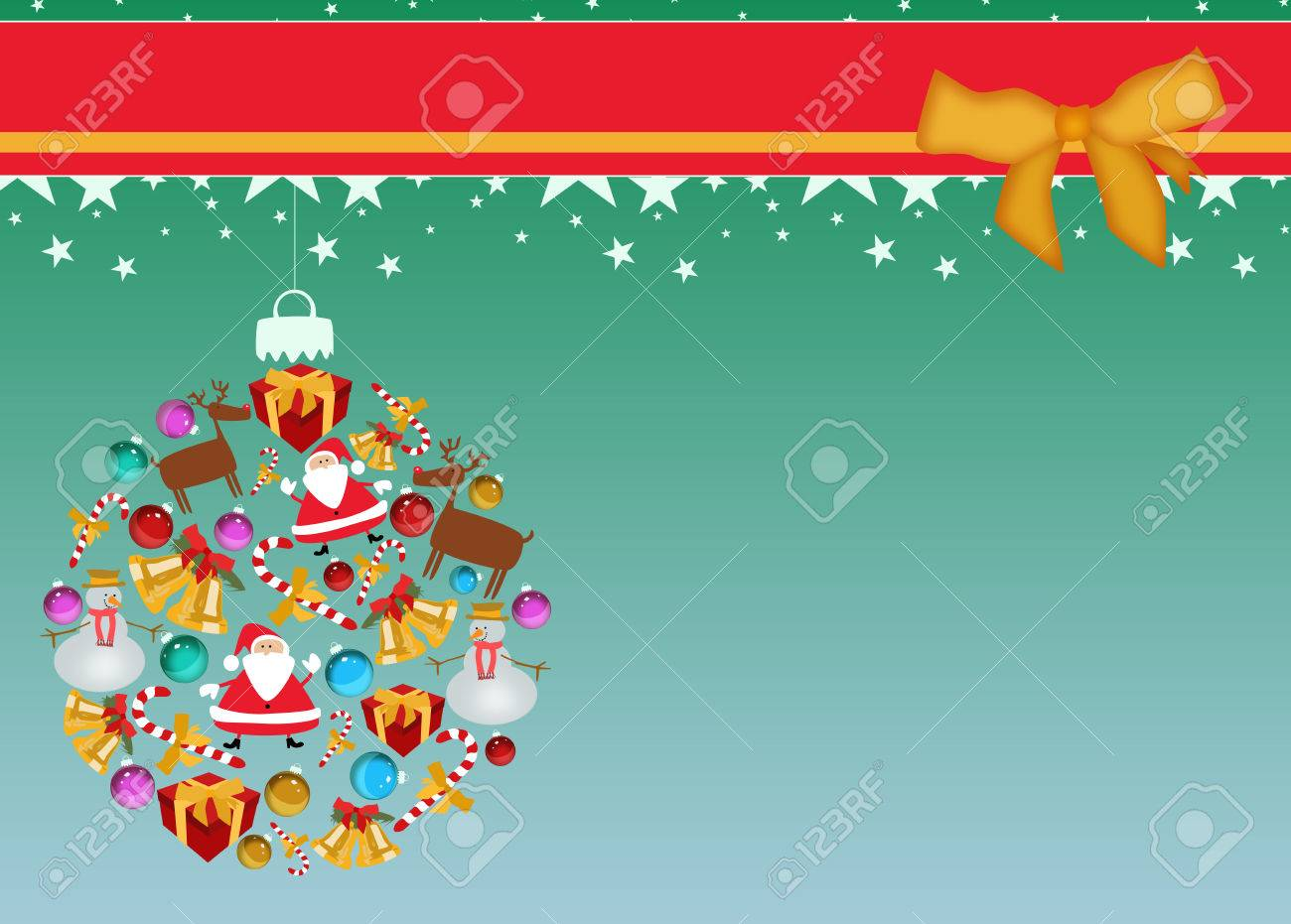 merry christmas decoration poster or flyer background space merry christmas decoration poster or flyer background space stock photo 23419470