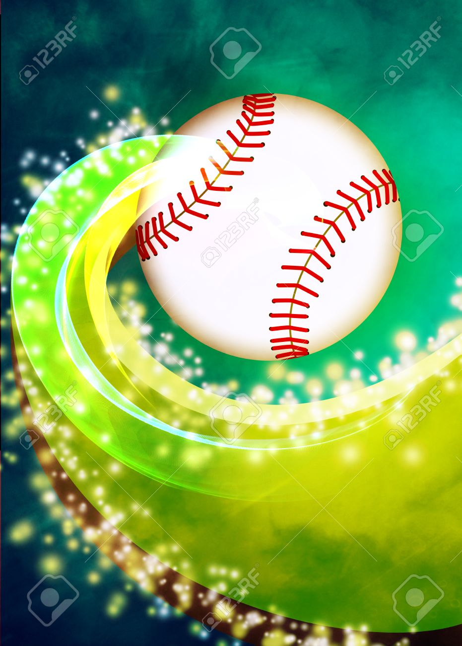baseball invitation poster or flyer abstract background baseball invitation poster or flyer abstract background empty space stock photo 26901245