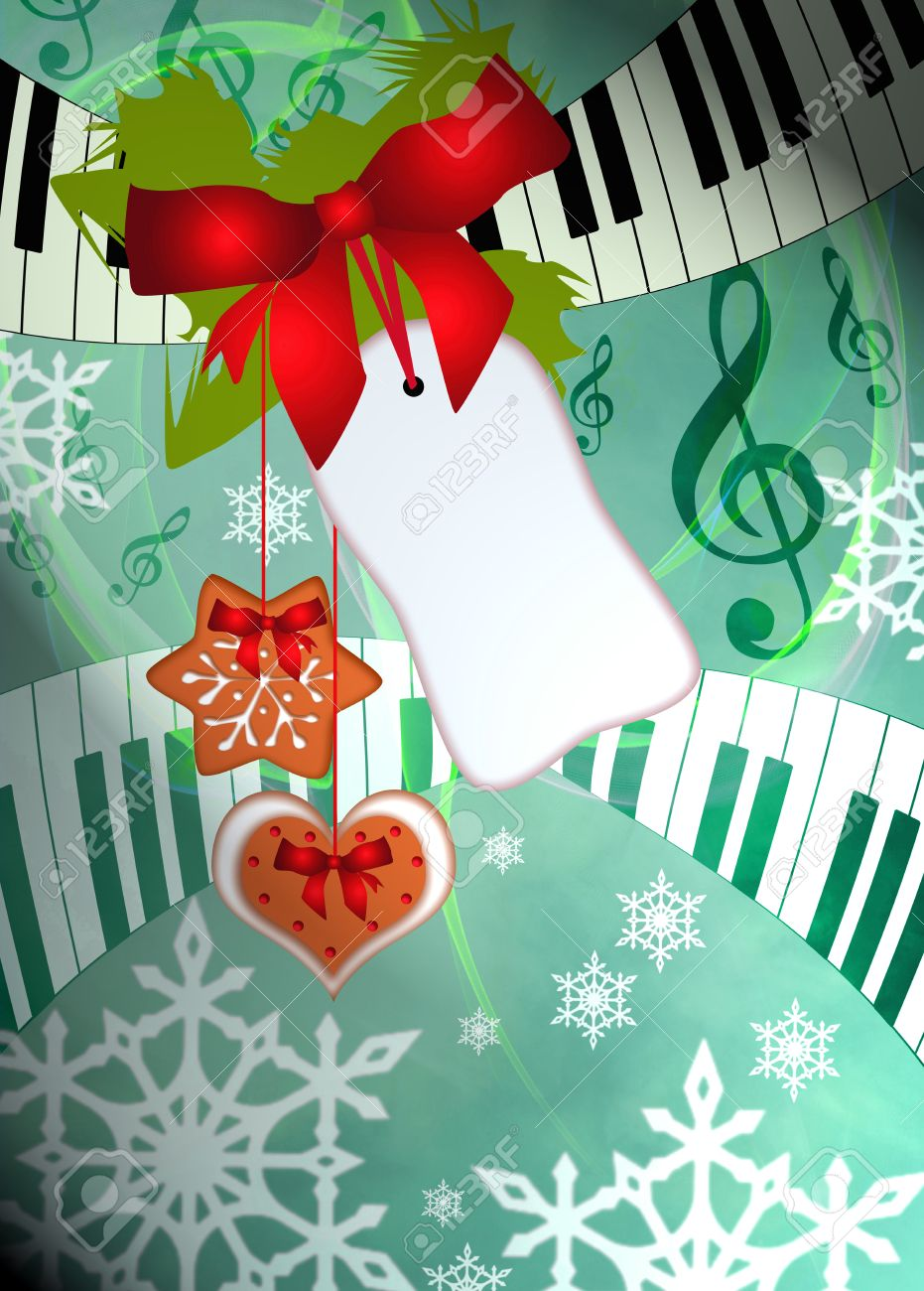 advent or christmas music concenrt advert poster or flyer advent or christmas music concenrt advert poster or flyer background empty space stock photo