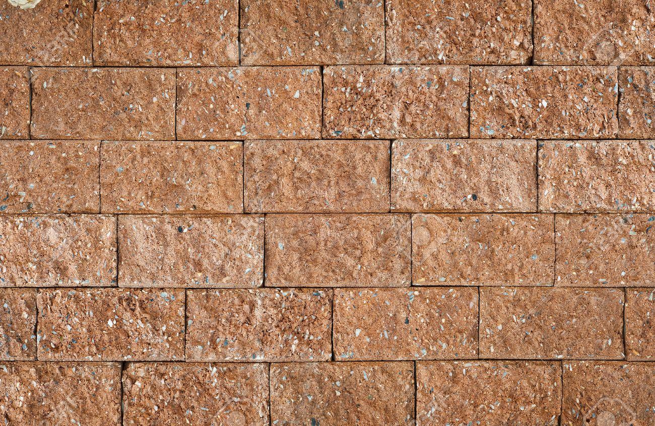 Laterite brick wall Stock Photo - 14209281