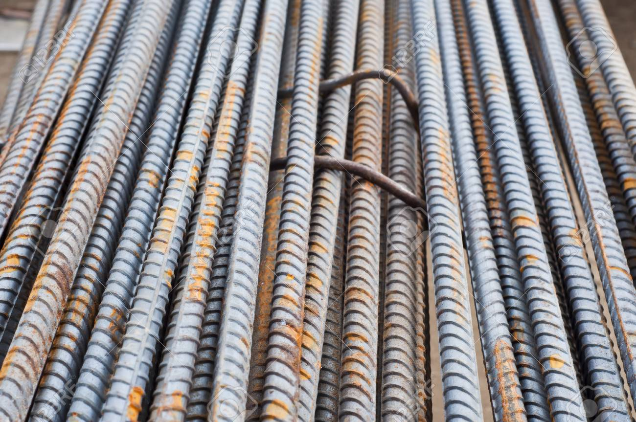 Rusty steel bars Stock Photo - 15936245