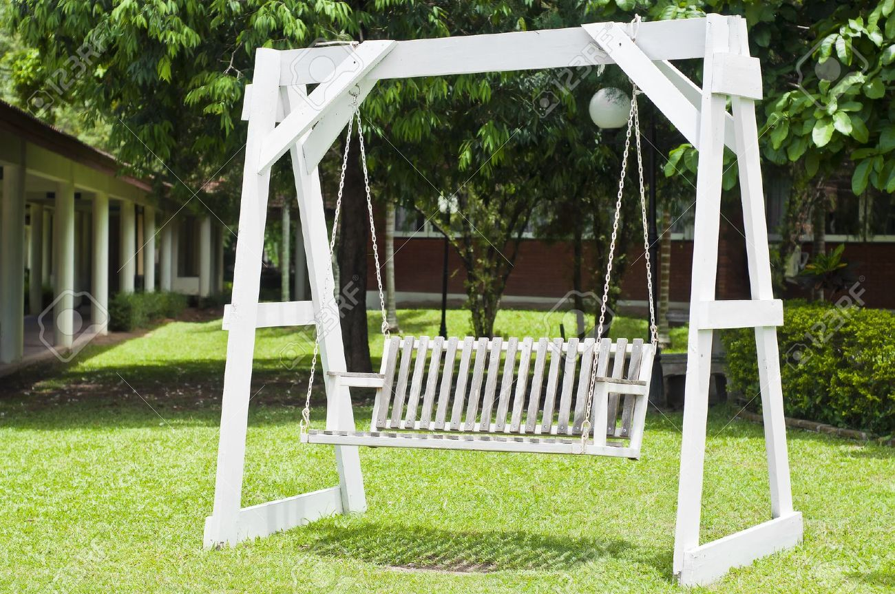 Wooden Swing Seats Garden Furniture Zandalus Net