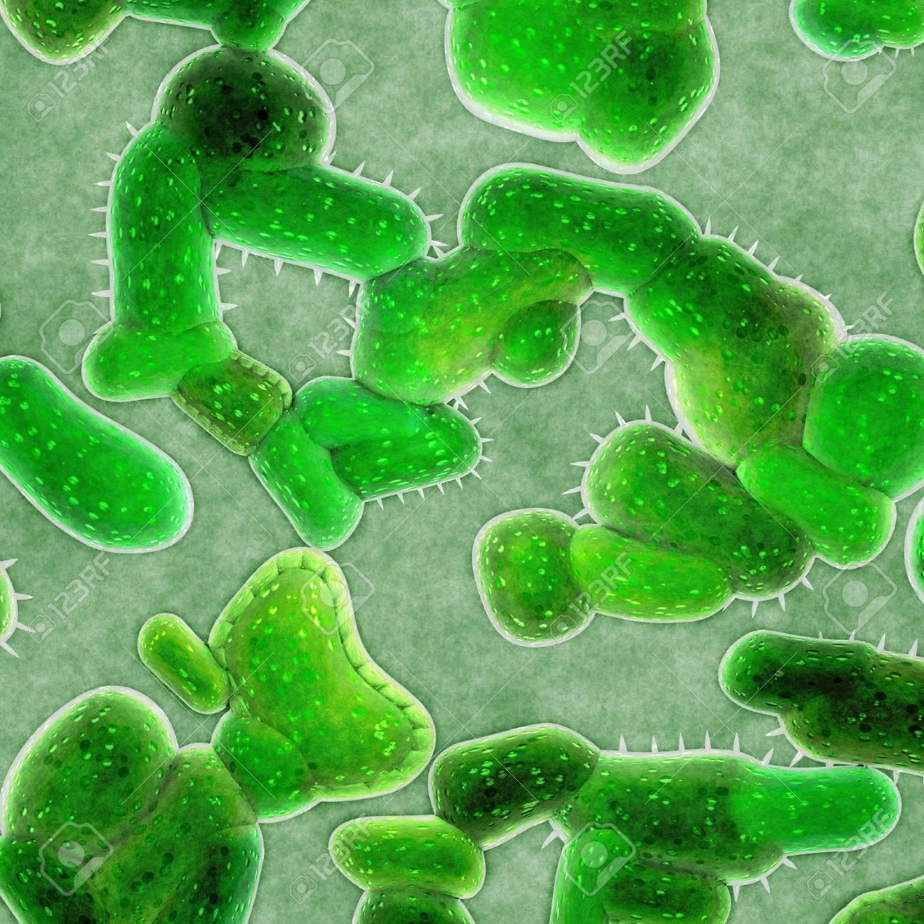 bacteria cells Stock Photo - 15226038