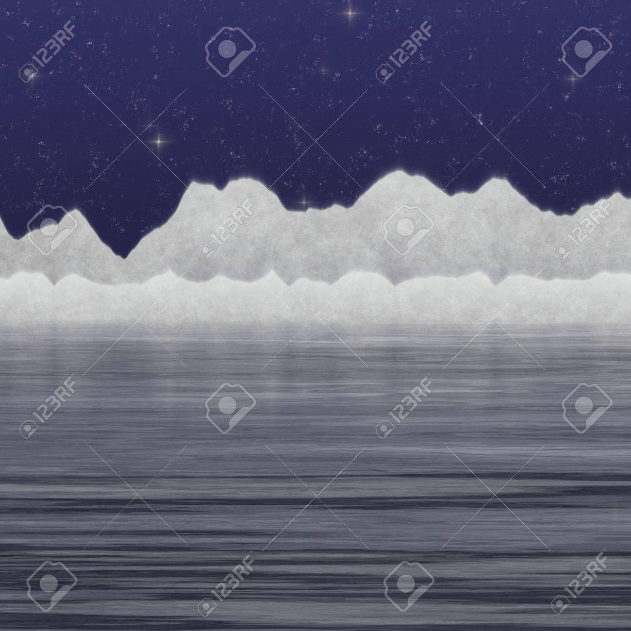 cold sea Stock Photo - 17419099